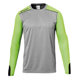 UHLSPORT TOWER KEEPERSSHIRT GREY MELANGE/FLUO GREEN