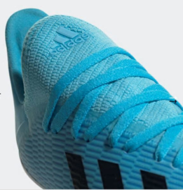 Adidas X 19.3 FG Bright Cyan / Core Black / Shock Pink Voetbalschoenen Junior