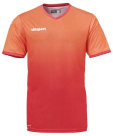 Uhlsport Division Shirt korte mouw rood