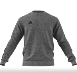 Adidas Core 18 Sweat Top Grey/Black Senior