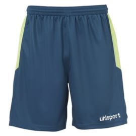 UHLSPORT KORTE KEEPERSBROEK PETROL/FLASH GREEN
