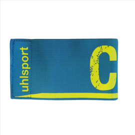 CAPTAINS ARMBAND CYAN,WHITE JUNIOR