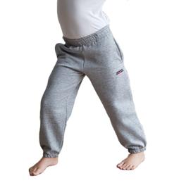 Donnay Junior - Joggingbroek met boord - Grijs gemêleerd