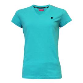 Donnay Dames - T-shirt Lois - Oceaan Groen