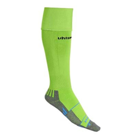 UHLSPORT TEAM PRO PLAYER CHAUSSETTES  VERT FLASH/NOIR