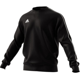 Adidas Core 18 Sweat Top Black Junior