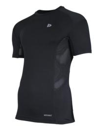 Donnay Heren - Baselayer shirt korte mouw - Zwart