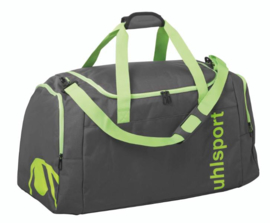 UHLSPORT ESSENTIAL 2.0 SPORTS BAG 30L anthra/fluo green