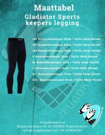 Gladiator Sports keepers legging