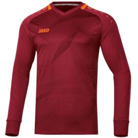 Jako Goal Keepersshirt Wijnrood/Fluo Oranje