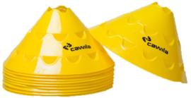 Cawila Multischijven L  10 stuks geel