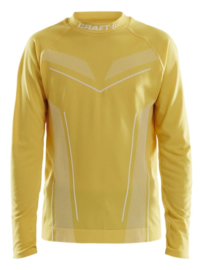 CRAFT PRO CONTROL ONDERSHIRT JERSEY YELLOW
