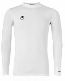 UHLSPORT DISTINCTION COLORS BASELAYER BLANC