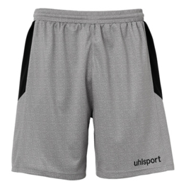 UHLSPORT KORTE KEEPERSBROEK DARK GREY MELANGE/BLACK