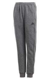 Adidas Core 18 Sweat Pant Grey Junior
