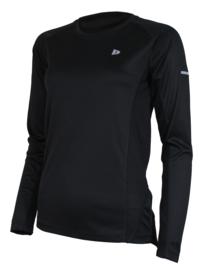 Donnay Dames - Multi Sport T-shirt lange mouw - Zwart