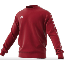 Adidas Core 18 Sweat Top Power Red Junior