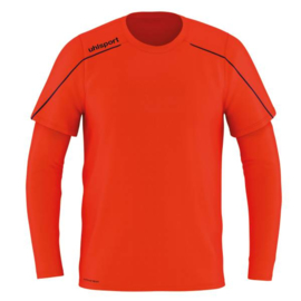 UHLSPORT STREAM 22 KEEPERSSHIRT FLUO RED / NAVY