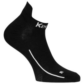 Kempa Sneakersokken Zwart (2 pack)