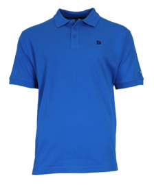 Donnay Heren - Polo pique shirt Noah - Cobaltblauw