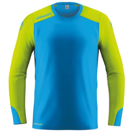 UHLSPORT TOWER LA KEEPERSSHIRT RADAR BLUE/FLUO YELLOW