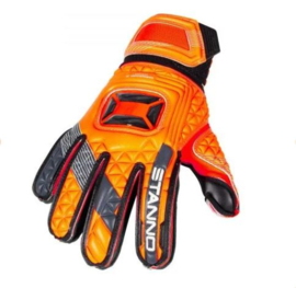 Goalkeeper gloves without Fingersave Junior