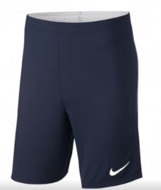 Nike Academy 18 Trainingshort Donker Blauw Senior