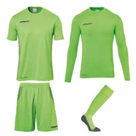UHLSPORT SCORE KEEPERSSET FLUO GREEN/NAVY