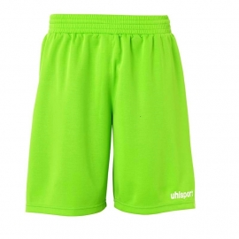UHLSPORT BASIC KORTE KEEPERSBROEK POWER GROEN/WIT