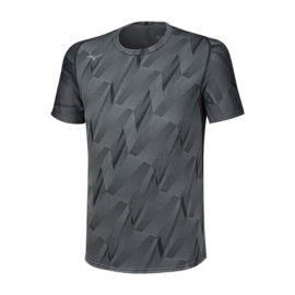 Mizuno Jacquard Graphic Shirt Heren