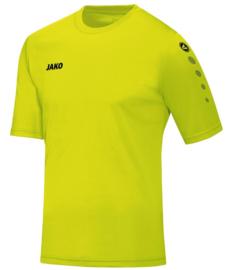 JAKO Shirt Team KM Lime Junior