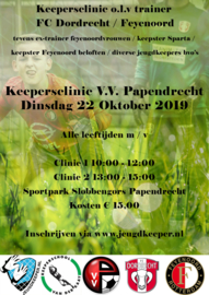 Keepersclinic V.V. Papendrecht di 22-10-2019