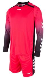 Hummel Freiburg Keeperstenue Red/Pink met kousen