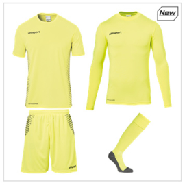 UHLSPORT SCORE KEEPERSSET FLUO FLUO YELLOW/BLACK