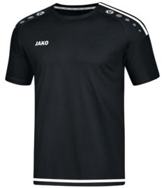 JAKO T-shirt/Shirt Striker 2.0 KM Zwart/Wit