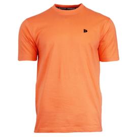 Donnay Heren - T-Shirt Vince - Meloen Oranje