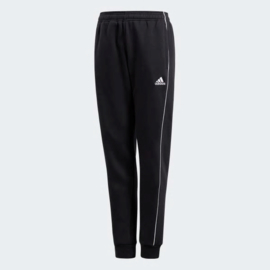 Adidas Core 18 Sweat Pant black / White Junior