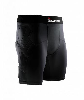 Gladiator Sports Protection Short Met Dunne Bescherming