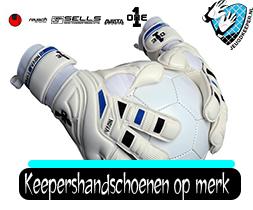 Jeugdkeeper.nl Keepershandschoenen op merk