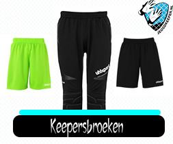 Keepersbroeken of keepersbroek kopen bij Jeugdkeeper.nl