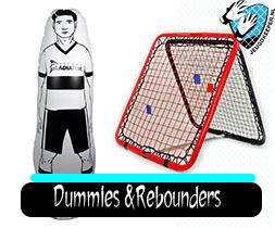 Air-Dummy en rebounders Jeugdkeeper.nl