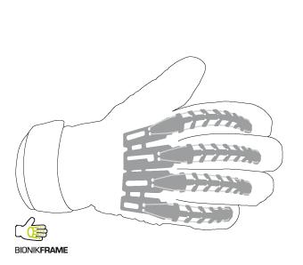 Finger support Uhlsport Jeugdkeeper.nl
