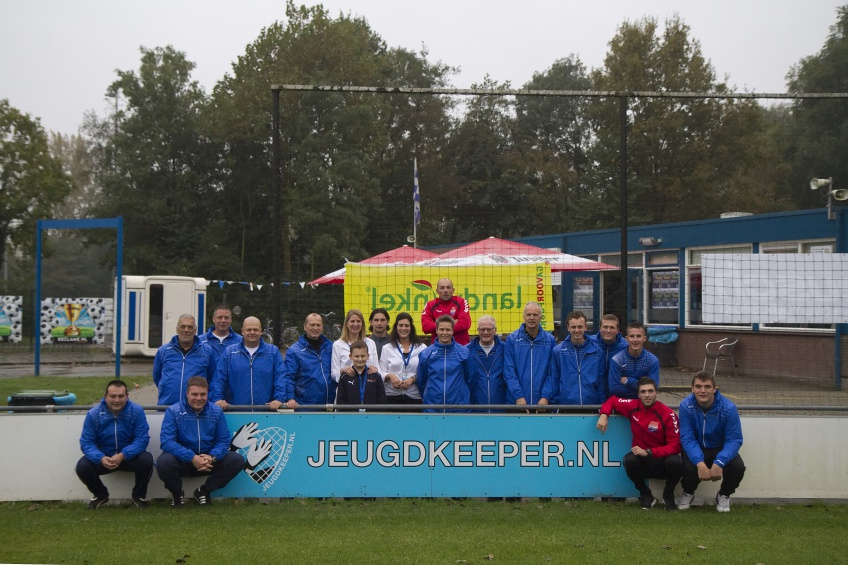 Jeugdkeeper.nl groepsfoto keeperstrainers