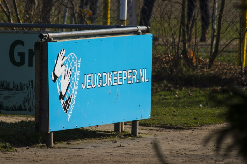 Jeugdkeeper.nl reclamebord