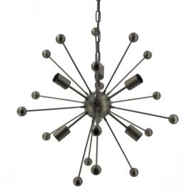 Hanglamp met bollen zwart