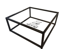 Los frame staal tbv salontafel