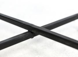 Salontafel Nordic - mangohout/ijzer - set van 2
