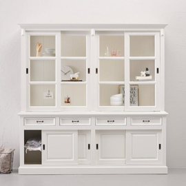 Winkelkast - 220 cm - wit HSM Collection