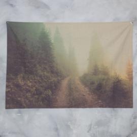 Wanddoek natuur 180 x 120cm