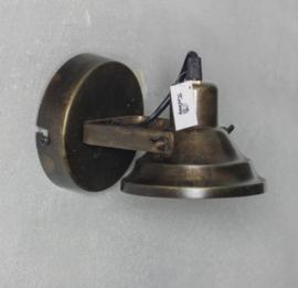 Plafonniere/wandlamp metaal